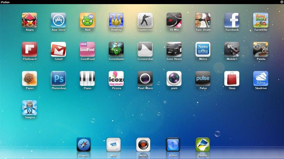 Эмулятор iOS для PC - iPadian ITFAQs